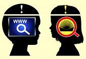 Internet Versus Books
