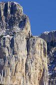 Peak in Ferrera Mountains, Pyrenees, Huesca, Aragon, Spain