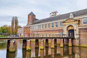 Bridge And Gate To The Castle Of City Breda