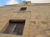 Old church facade in Siggiewi, Malta