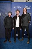 LOS ANGELES - FEB 5:  Rick Woolstenhulme, Jr., Jason Wade, Bryce Soderberg, Lifehouse at the Delta Air Lines Toasts 2015 GRAMMYs at a SOHO House on February 5, 2015 in West Hollywood, CA