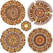 Round Ornament Patterns