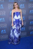 LOS ANGELES - JAN 16:  Diane Kruger arrives to the Critics' Choice Awards 2015  on January 16, 2015 in Hollywood, CA