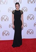 LOS ANGELES - JAN 24:  Lauren Cohan arrives to the 26th Annual Producers Guild Awards  on January 24, 2015 in Century City, CA