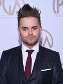 LOS ANGELES - JAN 24:  Thomas Dekker arrives to the 26th Annual Producers Guild Awards  on January 24, 2015 in Century City, CA