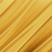 Smooth elegant gold silk fabric