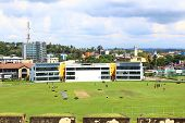 The Cricket stadium in Galle