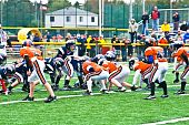 Little League Football Angriffslinie line