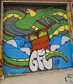 Mural art in Astoria section of Queens
