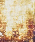 Antique vintage texture, old-fashioned weathered background. With different color patterns: yellow (beige); brown; gray; purple (violet)