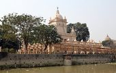 KOLKATA, INDIA - 14th FEBRUARY 2014: Belur Math, headquarters of Ramakrishna Mission, founded by philosopher Vivekananda.