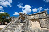 picture of mayan  - Ancient Mayan civilization historical ruins - JPG