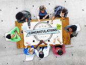 foto of congratulation  - Congratulations Achievement Celebration Admiration Concept - JPG