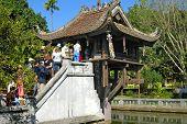 One-Pillar Pagoda, Hanoi, Viet Nam