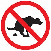 stock photo of dog poop  - No signs of dog food used in gardens and playgrounds - JPG