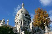 Basilica On Montmartre, Paris