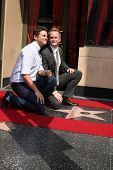 LOS ANGELES - SEPT 15: David Burtka, Neil Patrick Harris at the ceremony bestowing a star on the Hollywood Walk of Fame to Neil Patrick Harris at Frolic Room on September 15, 2011 in Los Angeles, CA