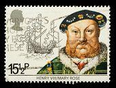 British Naval History Postage Stamp