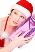 Hada de la Navidad adivinar su presente