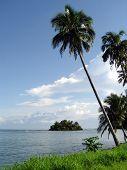 Beach Scene, Samoa