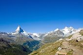 Matterhorn and Nadelhorn