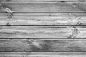 Rough Wood Texture With Copyspace For Design, Wooden Background, Rough Texture, Black And White poster