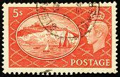 Großbritannien-Briefmarke