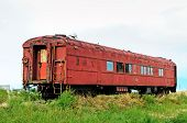 Old Forgotten Railcar
