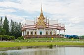 Beautiful Temple In Thai Style