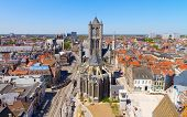 Ghent, Flanders, Belgium, from the Belfry tower