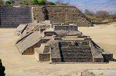 Ruínas da pirâmide, México