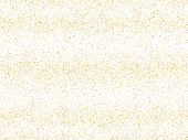 Gold Sparkles Glitter Dust Metallic Confetti Vector Background. Luxurious Golden Sparkling Backgroun poster