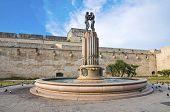Fountain of Harmony. Lecce. Puglia. Italy.