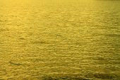 stock photo of gold glitter  - Gold water for a beautiful abstract background - JPG
