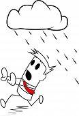 Square guy-Rain