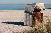 Beach Chair At The Ocean