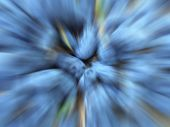 Blue Berries. Specially Blurred Image. Blue Blurred Background. Radial Blur poster