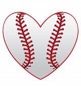 Baseball Herz