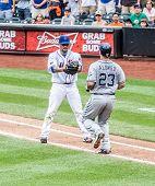 Johan Santana Of The NY Mets