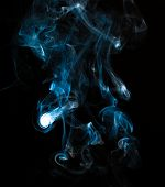 Close Up Of Smoke On Black Background. Smoke Stock Image. Smoke Cloud. Fog Clouds, Smoky Mist And Re poster