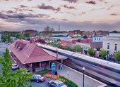 Manassas Railway Station In Virginia Usa