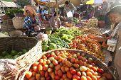 Nyaung-u Market, Myanmar