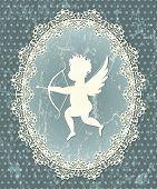 Cupid medallion
