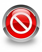 Prohibit glossy icon