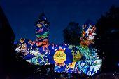 Nürnberg, Duitsland - sterven Blaue Nacht 2012