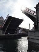Open Bascule Bridge