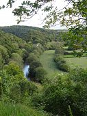 stock photo of backwoods  - Rural landscape photographed at Little Torrington in Devon - JPG