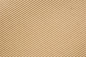 Cardboard Corrugated Pattern Background, Angled