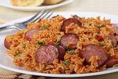 Sausage And Rice Dinner