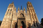 France Rouen: The Gothic Cathedral Of Rouen